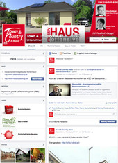 Town & Country Haus im Social Media